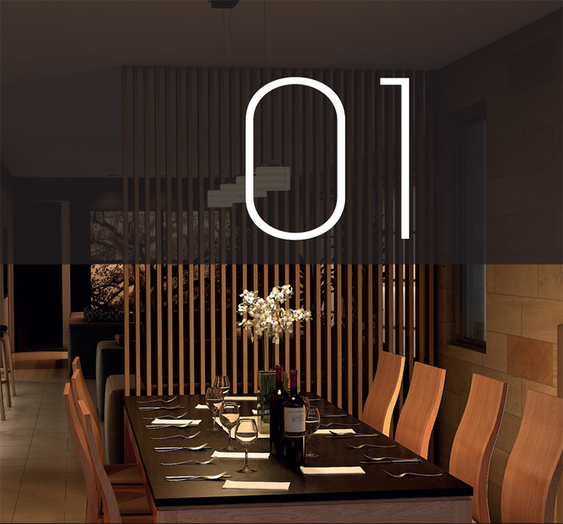 Home architecture and design process - conception